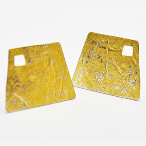 Gold Lead Cufflinks